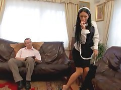 Anal, Brunette, Cumshot, Stockings