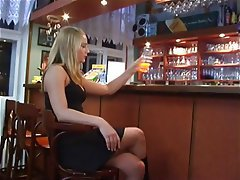 Blowjob, Blondine, Fuß Fetisch