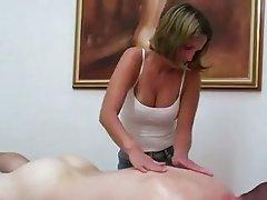 Amateur, Handjob, Massage