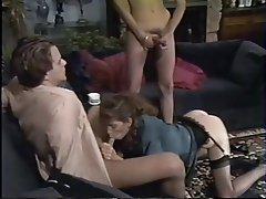 Sborrata, Duro porno, Pornostar, Terzetto