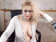 Amatriçe, Masturber, Agé, Webcam