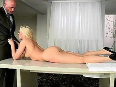 Teenie, Teenie, Teenie, Niedlich, Blondine, Blowjob