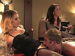Mistress, Femdom, Femdom, Brunette, Blonde