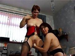 Lesbién, Masturber
