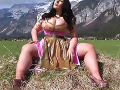 BBW, Big Boobs, Blowjob, Latex