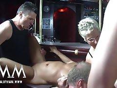 Amatör, Almanya, Grup seks, Olgun kadınlar