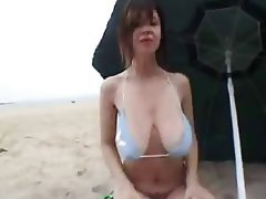 Amateur, Beach, Big Boobs