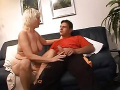 Old and Young, German, Granny, Pornstar